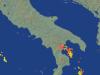 Fulmini individuati dal radar alle 16.30