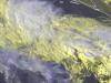 I temporali V-shaped nell'alto Ionio, visti dal satellite