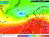 Situazione meteo attuale con l'alta pressione distesa sul Mediterraneo