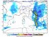 Precipitazioni indicative giovedì pomeriggio, evidente la linea instabile che attraversa tutto il Sud - Fonte mappa : www.lamma.rete.toscana.it/