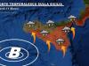 Allerta per la Sicilia, previsioni per venerdì