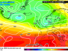 Il flusso fresco atlantico che sta interessando il Nord . Centro-Sud sotto l'anticiclone