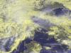 Forte maltempo sul Nord-Ovest visto dal satellite