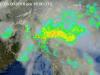 Il sistema temporalesco che sta avvolgendo il Veneto