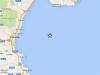 Scossa magnitudo 2.0 a largo della Sicilia orientale, non avvertito