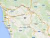 Epicentro sisma in Toscana 2.1 alle 03.40