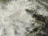 Tappeto di nubi sull'Italia
