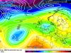 Ipotesi GFS - entrata del freddo molto alta, sull'Europa centrale