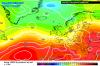 Previsione per il prossimo week-end : ondulazione atlantica verso l'Italia colma di aria fresca