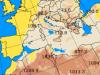 Flusso di sabbia costante sull'Italia ( previsione fra il 5 e 6 Aprile )