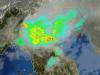 Vasto ammasso temporalesco in pianura Padana visto dal radar della protezione civile