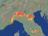 Migliaia di fulmini registrati nelle ultime ore al Nord