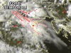 I temporali sul Veneto visti dal satellite - ore 18.15