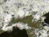 Numerosi temporali al nord - scatto satellitare delle ore 16.10