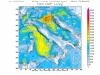 CAPE (energia nei bassi strati) elevato sull'Italia - WRF Inmeteo.net