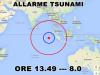 Terremoto nell'oceano indiano, allarme tsunami