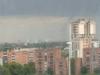 Debole tornado a Milano - foto scattata da Lorenteggio da Marco Allegra