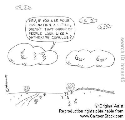 Cumuli allegri