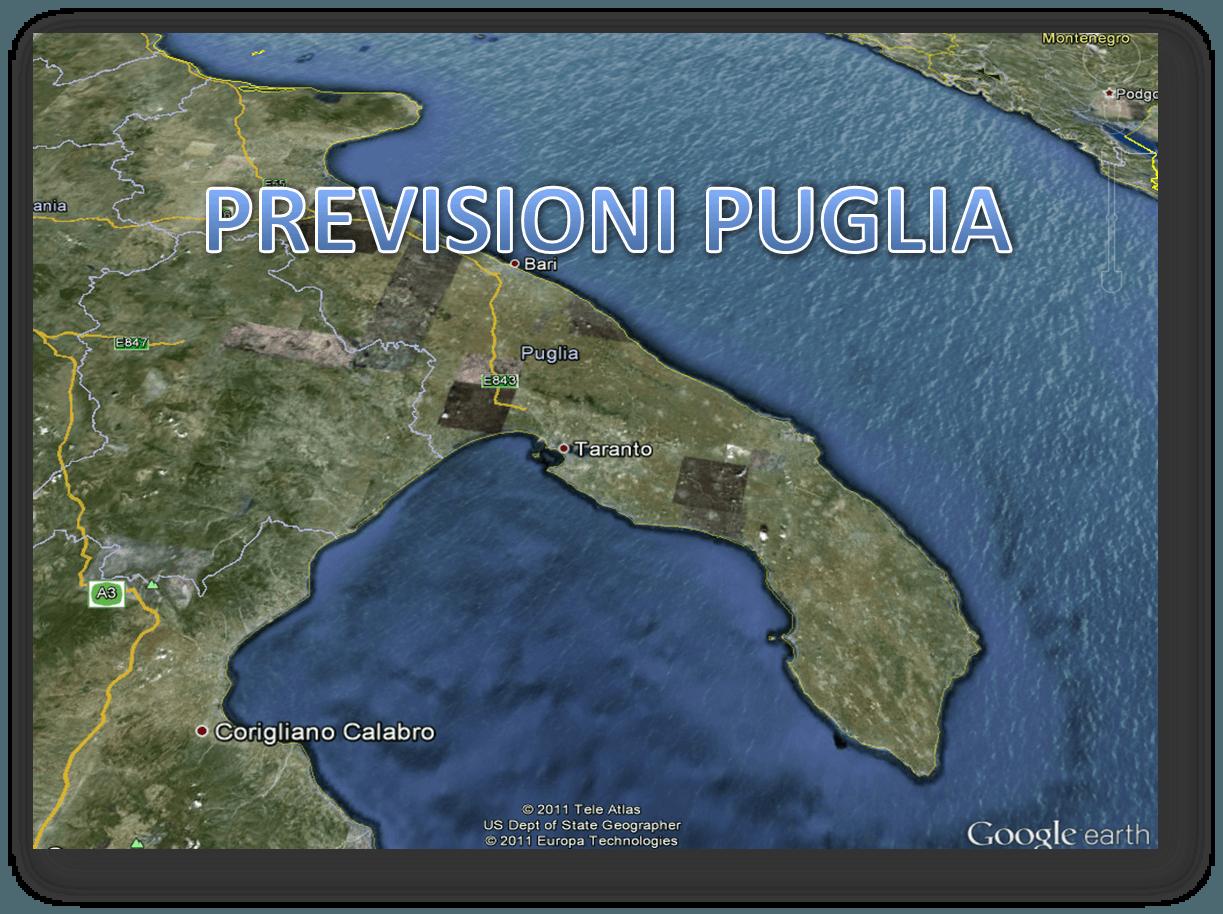 Previsioni Meteo Puglia