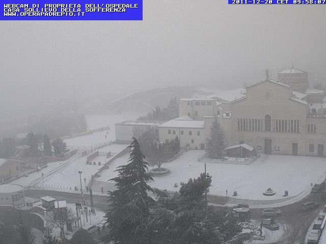 Neve a San Giovanni Rotondo