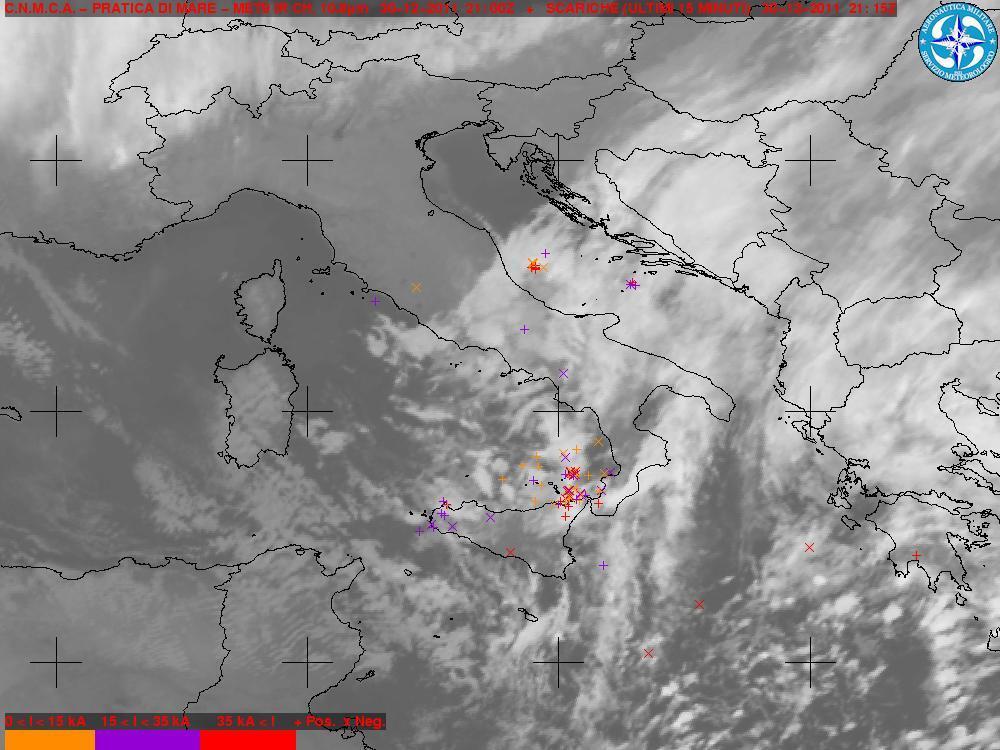 Temporali sullo Stretto di Messina 30-31 Dicembre 2011
