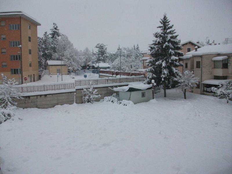 Neve a Sulmona, foto di Pierluigi Cocco