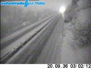 webcam fornita da www.autostrade.it