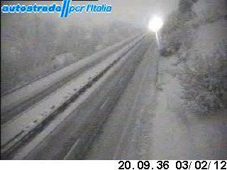 webcam fornita da www.autostrade.it