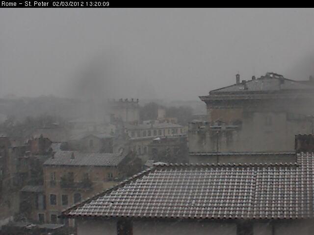 Neve a Roma Centro Storico (barcello.it)