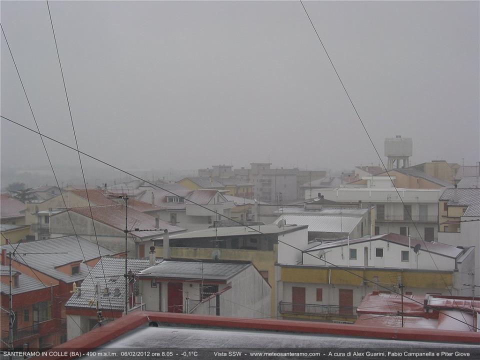 Neve a Santeramo (Meteosanteramo.com)
