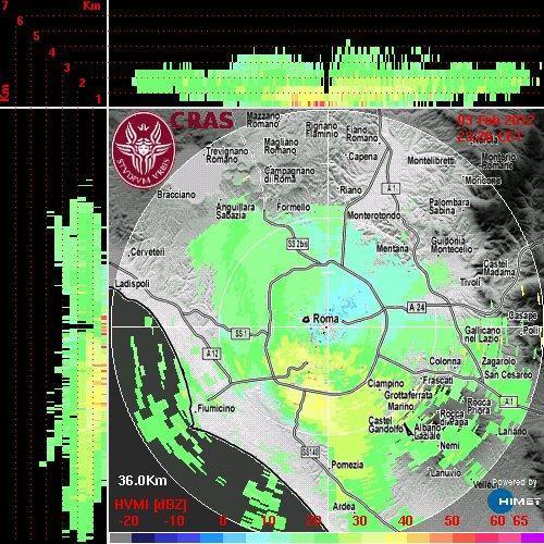 Radar a Mezzanotte, tanta neve in arrivo