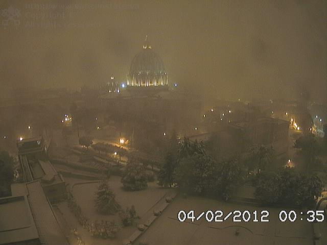 Vaticano a mezzanotte
