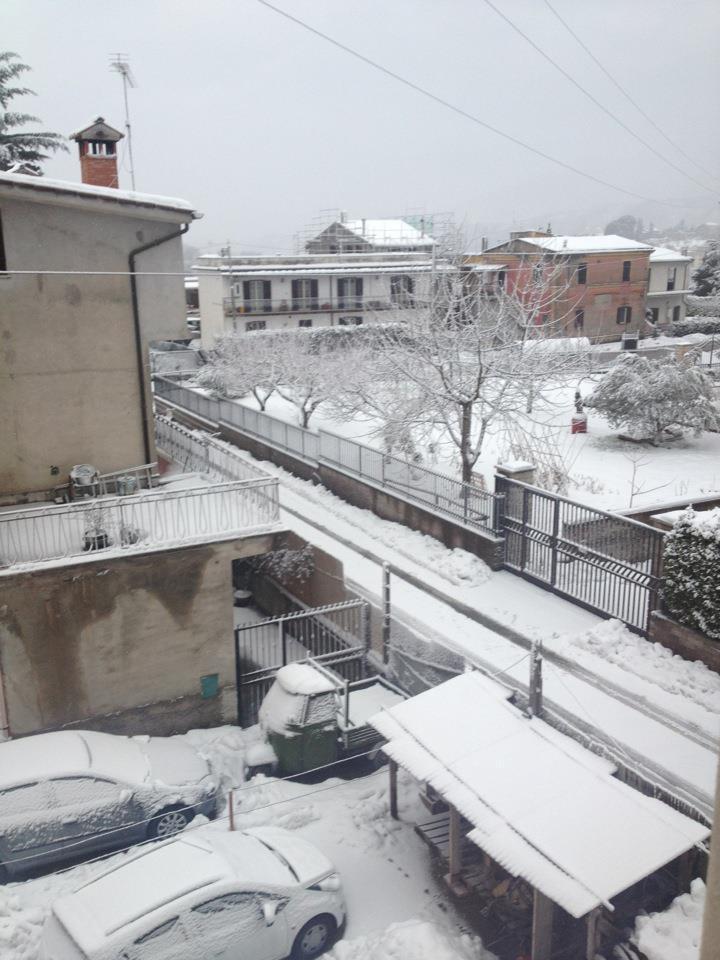 Vicovaro (Tivoli) Foto di Cristina Rossi ore 8
