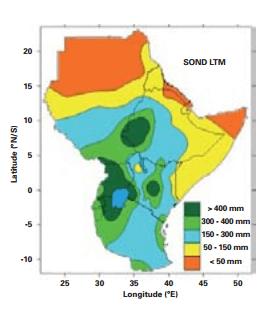 Previsione stagionale sulla siccità in Africa secondo l'OMM