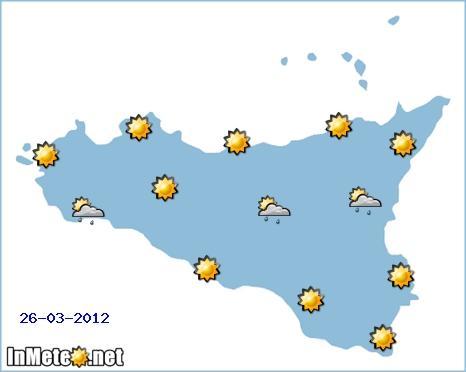 Previsioni sulla Sicilia