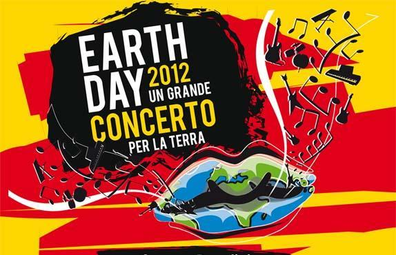 Locandina Earth Day Concerto Napoli