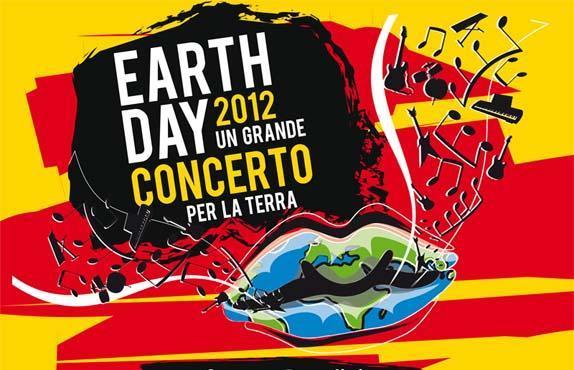 Locandina Earth Day Concerto Napoli