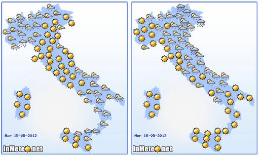 Nuovo fronte instabile tra martedì e mercoledì sull'Adriatico