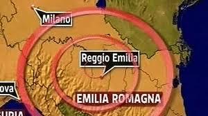 Terremoto a Bologna - Epicentro a 36 km a nord della città bolognese