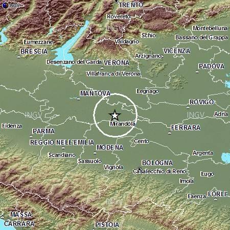 Terremoto in Lombardia