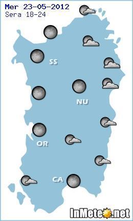 Meteo Sardegna - Sera