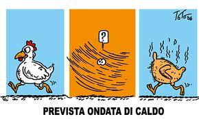 Prevista ondata di caldo (risodegliangeli.corriere.it)