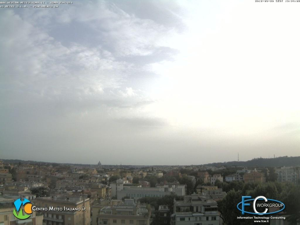 Webcam di Roma, (fonte www.webcam-meteo-roma.it)