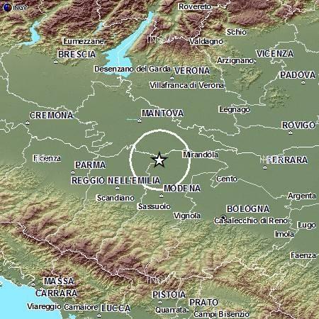 Terremoto, la scossa più forte della notte