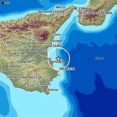Terremoto Oggi Mar Ionio