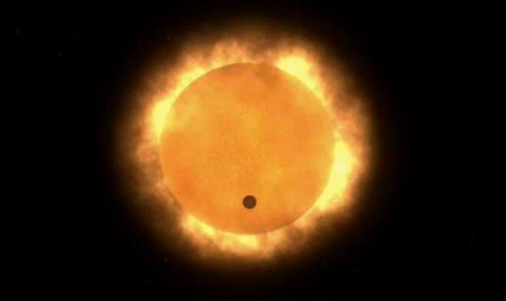 Venere 6 GIugno 2012 - Allineamento planetario