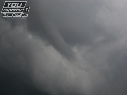 Temporale nel torinese , funnel