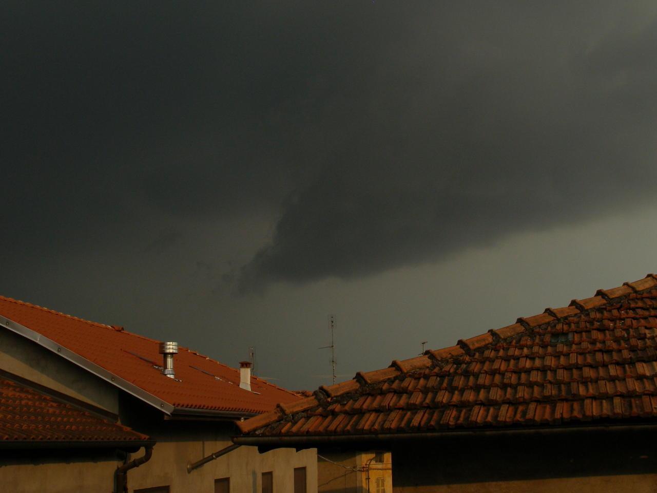 Violenti temporali oggi pomeriggio in Piemonte