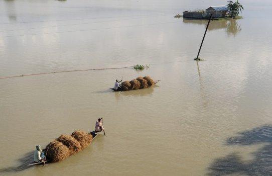 Alluvione storico in India