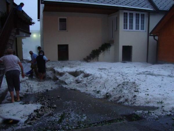 Grandine Slovenia 11 Luglio 2012